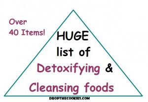 Huge List of Detoxifying and Cleansing Foods